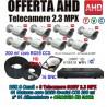 Kit Videosorveglianza 8 Canali AHD 720P 8 Telecamere 3000TVL + HD + Cavi Video