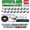 Kit Videosorveglianza 16 Canali AHD 720P 16 Telecamere 3000TVL + HD + Cavi Video