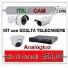 Kit Videosorveglianza 16 Canali 960H 16 Telecamere + Alimentatori
