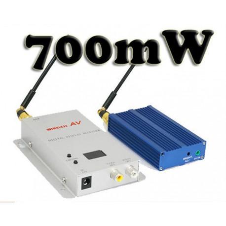 TRAMETTITORE ALTA POTENZA 700mW Video + Audio