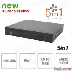 DVR 4 Canali 5in1 AHD / CVI / TVI / IP / ANALOGICO 1080N