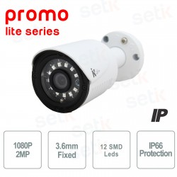 Telecamera IP Bullet 2MP 1080P 3.6mm - Serie Promo