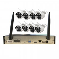 Kit Videosorveglianza Wireless IP 4 Canali