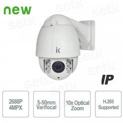 Telecamera Speed Dome PTZ IP HD 4Mpx 10x Zoom -  PTZIP4M10XIITA