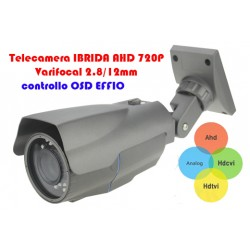 Telecamera Bullet  IBRIDA OSD EFFIO VARIFOCAL 2.8-12mm