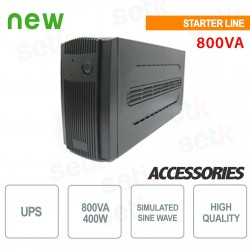 Gruppo di continuit? UPS 600VA / 300W Monofase - UPSK600LI