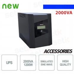 Gruppo di continuit? UPS 800VA / 400W Monofase - UPSK800LI