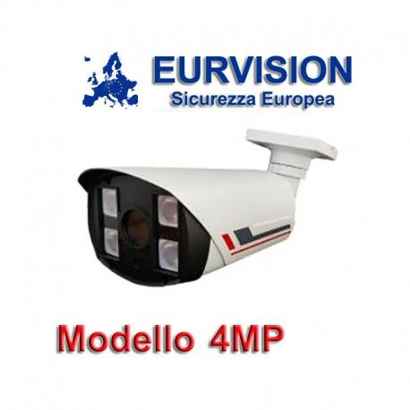 "TELECAMERA EURVISION 4MP IBRIDA 4IN1 ""ANALOGICA/AHD/HDCVI/HDTVI""1080P 4MPX"