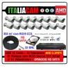 Kit Videosorveglianza 16 Canali AHD 720P 16 Telecamere 3000TVL + HD + Cavi con Alimentazione